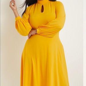 ELOQUII Keyhole Midi Dress NWT Size 14